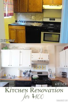 Todd & Lindsey: Kitchen Reveal! Bead board for inexpensive back splash