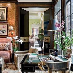 NEW YORK PENTHOUSE : AD100 Designer Mario Buatta's Timeless Interiors : Architectural Digest