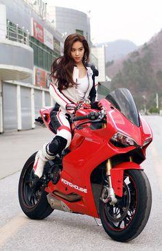 super bike girl
