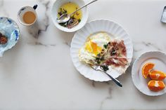 Fried eggs with Jamón | Cannelle et Vanille
