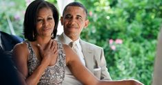Barack Obama surprises Michelle as she says an emotional farewell