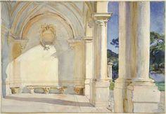 John Singer Sargent's Villa Falconiere