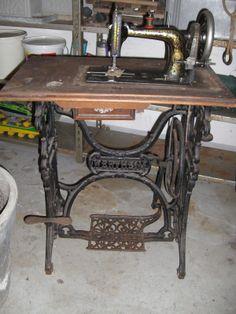 Nähmaschine Wertheim, komplett   eBay