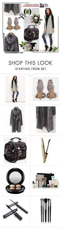 """""""Sheinside 3"""" by mirecr7 ❤ liked on Polyvore featuring Wet n Wild, VOV, MAC Cosmetics, Illamasqua, Sheinside and shein"""