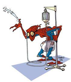 À quoi ressembleront les super héros lorsqu'ils seront vieux ? | Daily Geek Show