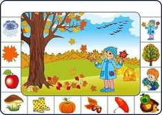 Learning English For Kids, Kids Learning, Autumn Activities, Preschool Activities, Weather For Kids, Visual Perception Activities, Arabic Alphabet For Kids, English For Beginners, Weather Seasons