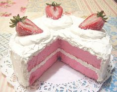 Strawberries and pink = it's pink, nothing else to say!