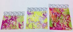Dysperse dye samples textiles A Level Cardinal Newman College Bekki Gibb