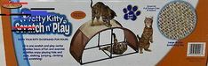 Pretty Kitty Scratch n Play Cat Play Center Pretty Kitty, Pretty Cats, New Puppy Checklist, Puppy Supplies, Play Centre, Cat Scratching, Dog Mom, Kittens, Puppies