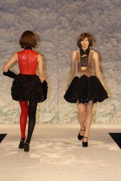 アパレルデザイン学科4年 Emi Aizu 卒業研究作品
