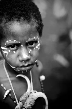 Papua New Guinea - child by Eric Lafforgue, via Flickr