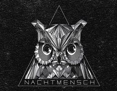 Geometric owl for Nachtmensch