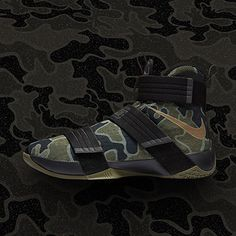 brand new 74427 a5188 Find release dates and info for the Nike Zoom Lebron Soldier 10 'CAMO' on