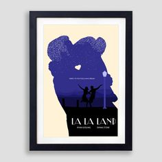 Official La La Land Poster, La La Land Print, La La Land Movie Poster, La La Land Olly Moss, La La Land Mondo, La La Land Gift, Lalaland