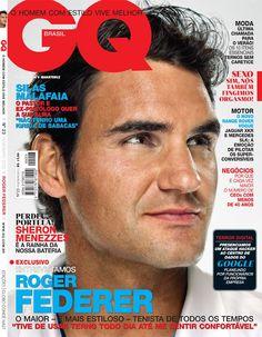 Roger Federer capa de fevereiro da GQ Brasil (Foto: Patrick Demarchelier)