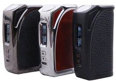 Think Vape MKL200 TC Box Mod is the newest mod. It is a full set of temperature modes and features a 0.91″ display with a horizontal menu, which conveniently incorporates vape data. Moreover, the maximum power output is a whopping 200 watts, the highest temperature output is 600 degrees. MKL200 works in dual 18650 batteries and the process can take place at 2 amps of current. In addition, MKL200 box mod dimensions come in at 87mm x 54mm x 27mm and the device weighs 145g, so it is portable…