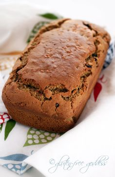 Gluten Free Carrot Bread with Chai Spices   *This turned out really good!