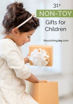 Give fun, engaging gifts to the children in your life! Here are 31 excellent ideas to get you started. Christmas Gifts For Kids, Christmas Activities, Holiday Gifts, Christmas Holidays, Christmas Ideas, Gifts For Girls, Kids Gifts, Gifts For Children, Non Toy Gifts