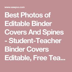 87 best binder pages images on pinterest in 2018 tags binder