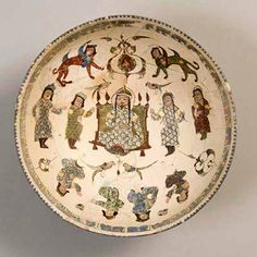 Bowl Date: late to early century Culture: Iran Period: Saljuq period Ceramic Pottery, Pottery Art, Ancient Near East, Science Crafts, Ancient Persia, Persian Culture, Iranian Art, Turkish Art, Religious Art