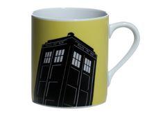 Official Doctor Who Yellow Tardis Mug @ niftywarehouse.com