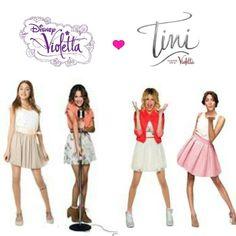 Violetta 1,2,3 & Tini:El Gran Cambio De Violetta