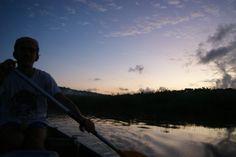 Lever de soleil marais de Kaw Guyane