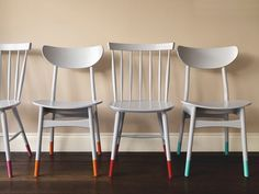 Mid Century Furniture, Bar Stools, Dining Chairs, Diy, Home Decor, Colors, Creative, Salvaged Furniture, Business