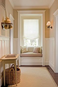 Very pretty wall color - soft. South Shore Decorating Blog: 50 Favorites for Friday (#110)