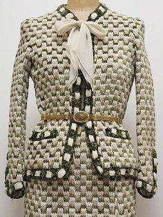 Suit; Chanel 1970s MET