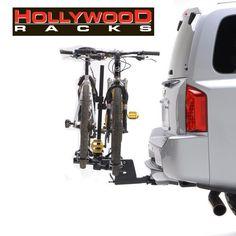 "Hollywood Racks Sportrider 2+2 4 Bike Platform Rack - 2"" Hitches"