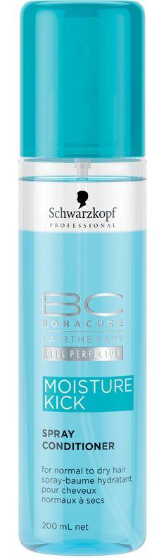 Schwarzkopf BC Moisture Kick Spray Conditioner - 200ml
