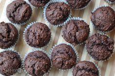 Weight Watchers Chocolate Pumpkin Muffins {1 PointsPlus} Recipe Desserts with cake mix, pumpkin purée, semi-sweet chocolate morsels