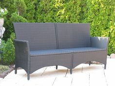 13 Best Rattan Gartenbank Images Garden Seating Garden Benches