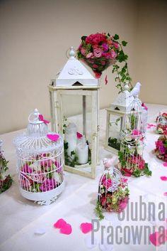 romantyczne dekoracje weselne
