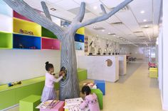 Beehives & Buzzcuts childrens hair salon by Andrea Mason, New York store design
