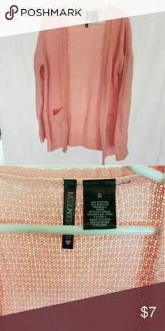 Knitted sweater cardigan Girls peachy knit cardigan sweater Shirts & Tops Sweatshirts & Hoodies