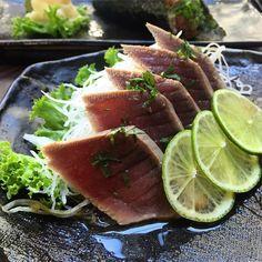 İoki'de şehirli bir stil: Tuna Tataki  #ioki #tuna #tataki #tunatataki by iokirestaurant