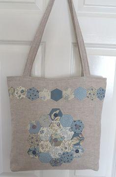 Blue Hexy Bag | Flickr - Photo Sharing!