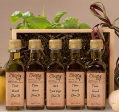 For your favorite cook, The Olive Tap (http://www.yelp.com/biz/the-olive-tap-highland-park) oil sampler makes a great gift! $39.95
