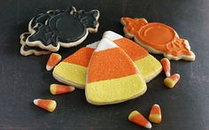 Homemade Fall Candy Corn & Halloween Candy Trick by MissBettyCakes, $17.99