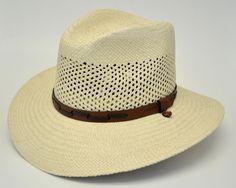 Stetson Airway Panama Straw Outdoors Hat