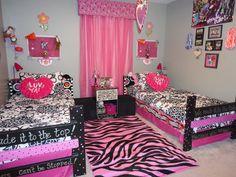 Monster High Room for girls