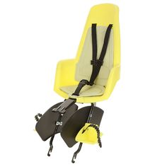 Bobike Maxi Classic bicycle safety seat in Fruity Yellow. Suitable for children upto 6 years of age or 22kg. Bobike. Simply Safe. www.bobike.com