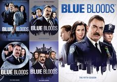 Blue Bloods Seasons 1-5 (DVD)