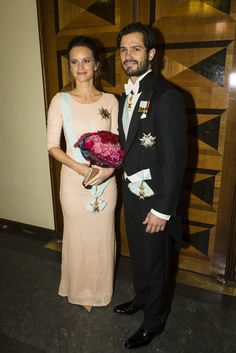 Princ Carl Philip of Sweden and wife