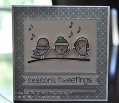 Southlake Scrapbooking: Now Carrying Lawn Fawn!!! winter sparrows, Christmas