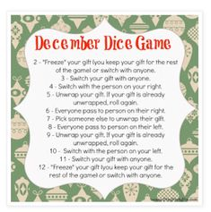 elephant gifts (round and some game ideas! (with free printables!) white elephant gifts (round and some game ideas! (with free printables!)white elephant gifts (round and some game ideas! (with free printables! Christmas Gift Exchange Games, Xmas Games, Holiday Games, Christmas Activities, Christmas Traditions, Holiday Fun, Fun Games, Youth Games, Holiday Ideas