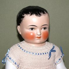 """Magnificent 16"""" Frozen Charlie by Goebel ~ A Lovely China Boy with Fabulous Clothing"""