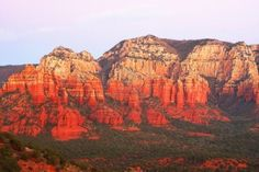 sedona arizona city | sedona arizona sunsetSunset In Oak Creek Canyon In Sedona Arizona ...
